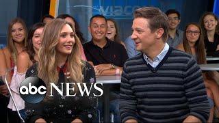 Download Elizabeth Olsen and Jeremy Renner open up about 'Wind River' Video