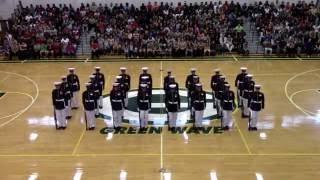 Download Silent Drill Platoon at Gallatin High School 2016 Video