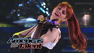 Download Lindsey Stirling: Former AGT Act Performs ″Shatter Me″ With Lzzy Hale - America's Got Talent 2014 Video