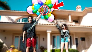 Download TYING IPHONE TO BALLOONS PRANK!! **this shouldn't have happened** Video