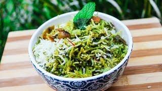 Download Green hydarabadi dum biryani | Handi biryani - By crazy4veggie Video