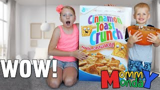 Download World's Largest Cereal Box & Owen Rushed to the Emergency Room || Mommy Monday Video