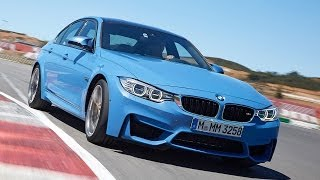 Download New 425bhp turbocharged BMW M3 tested Video