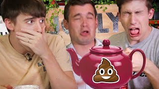 Download Trying the World's Strangest Teas!! (Yak Milk vs Larvae Poopㅠ) Video
