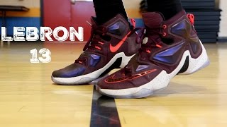 Download Lebron 13 Performance Test Video