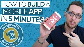Download Convert WordPress to a mobile app in 5 Minutes with WordApp Video
