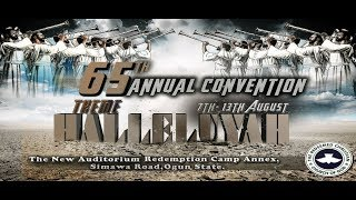 Download DAY 3 EVENING PLENARY SESSION 2 - RCCG 65TH ANNUAL CONVENTION 2017 - HALLELUJAH Video