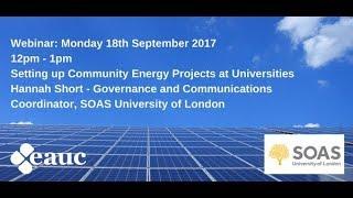 Download SOAS Solar Project Video