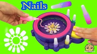 Download Fail - Make Your Own Custom Nails with Glitter Nail Swirl Art Kit Maker - Cookieswirlc Video Video
