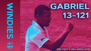 Download Gabriel enters WINDIES record books: best figures EVER on Windies Soil | Windies Finest Video