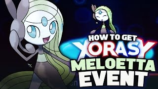Download HOW TO GET MELOETTA! Mythical Pokemon Event - Pokemon XY Omega Ruby Alpha Sapphire Tutorial Video