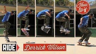 Download How-To Skateboarding: Nollie Heelflip with Derrick Wilson Video