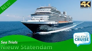 Download Nieuw Statendam - Sea Trials - August 2018 Video