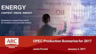 Download OPEC Production Scenarios for 2017 Video