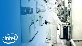 Download Working in the Clean Room | Inside the Fab | Intel Video