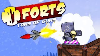 Download DOMINATING FIRE MISSILES! - Forts Multiplayer Gameplay Video