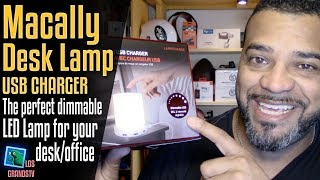 Download Macally LED Lamp with USB Charging Ports 💡 + 🔌 : LGTV Review Video