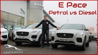 Download 2018 Jaguar E Pace - Petrol and Diesel Driven Back-to-Back ! Video