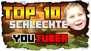 Download Top 10 schlechte Youtuber! | GermanGaming Video