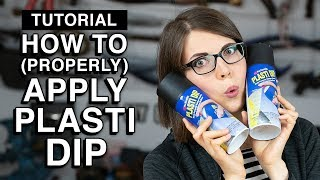 Download How to apply PlastiDip - Cosplay Tutorial Video