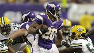 Download Adrian Peterson goes for Eric Dickerson's rushing record - 2012 Week 17 Vikings vs. Packers Video
