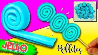 Download ROLLITOS de Gelatina con Malvavisco * POSTRES sin horno Video