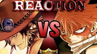 Download Natsu Vs Ace LIVE REACTION | ScrewAttack! DeathBattle Video
