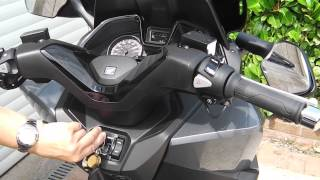 Download Honda 125 Forza in Silver Video