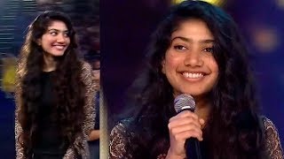 Download Sai Pallavi Most Blushing Moment While Talking On Stage @Award Function | Filmy Monk Video