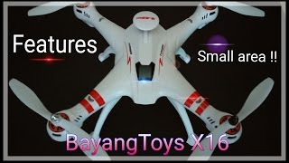 Download BayangToys X16 Features Explained/Flight in tight area!!! Video