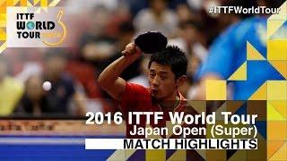 Download 2016 Japan Open Highlights: Zhang Jike vs Vladimir Samsonov (1/4) Video