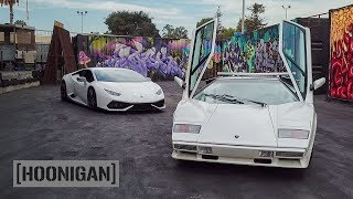 Download [HOONIGAN] DT 175: 1100hp Huracan Vs Countach Video