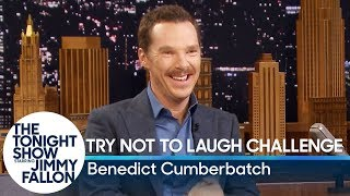 Download Try Not to Laugh Challenge with Benedict Cumberbatch Video