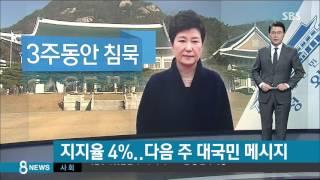 Download 박 대통령 지지율 4%…다음 주 대국민 메시지 / SBS Video