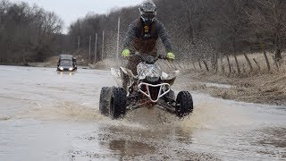 Download Ice and Water Crossing with ATV's and SXS's! Video