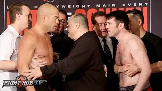 Download Tito Ortiz vs Chael Sonnen COMPLETE Weigh in & Face Off Video - Bellator 170 Video