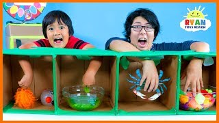 Download What's in the Box Challenge Ryan vs Daddy!!!! Video