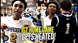 Download GETS HEATED!! Shadow Mountain 1st Home Game! The Squad TURNS UP THE HEAT! Video