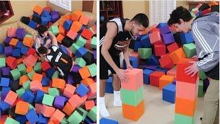 Download Crazy Foam Pit MINI GAMES vs FaZe RUG! Video