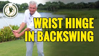 Download PROPER WRIST HINGE IN GOLF BACKSWING Video
