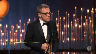 Download Christoph Waltz winning Best Supporting Actor for ″Django Unchained″ Video
