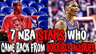 Download 7 NBA STARS Who Came Back From HORRIBLE INJURIES! Video