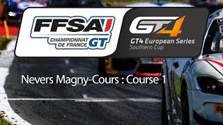 Download Championnat de France FFSA GT - GT4 European Series Southern Cup : Nevers Magny-Cours - Course 1 Video