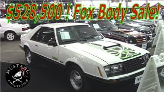 Download $528,500 FOX BODY Mustang Sale Dennis Collins does it again at Barrett-Jackson Scottsdale 2018 Video