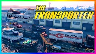 Download GTA ONLINE ″TRANSPORTER″ FREEMODE SPECIAL - IMPORTING/EXPORTING GTA 5 CARS & VEHICLE CHALLENGES! Video