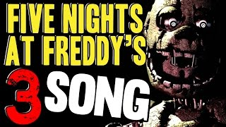 Download FIVE NIGHTS AT FREDDY'S 3 SONG 'Just An Attraction' FNAF Music Video Video