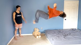 Download Teaching Billy to Backflip - Landed Under 5 Minutes! Video