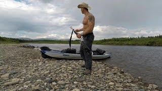 Download Yukon river in Alaska. 3 week solo camping trip Video