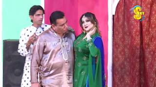 Download Nasir Chinyoti and Naseem Vicky Stage Drama Koie Mazaaq Ae Full Comedy Clip 2019 Video