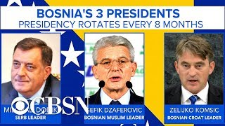 Download Ethnic divisions permeate Bosnia as country inaugurates its 3 presidents Video